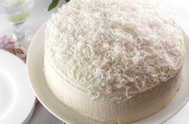 Gluten-Free Coconut Layer Cake | Przepisy | Pinterest