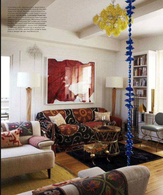 Bohemian Style Living Room Living Room Ideas Pinterest