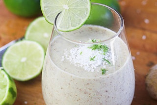 Lime Ginger and Coconut smoothie! MMMMMM | Noms | Pinterest
