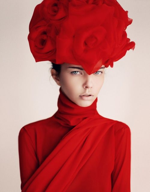 Red Haute Couture