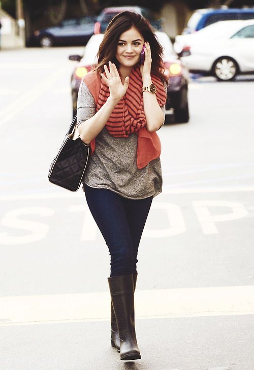 Lucy Hale Casual Fashion Pinterest