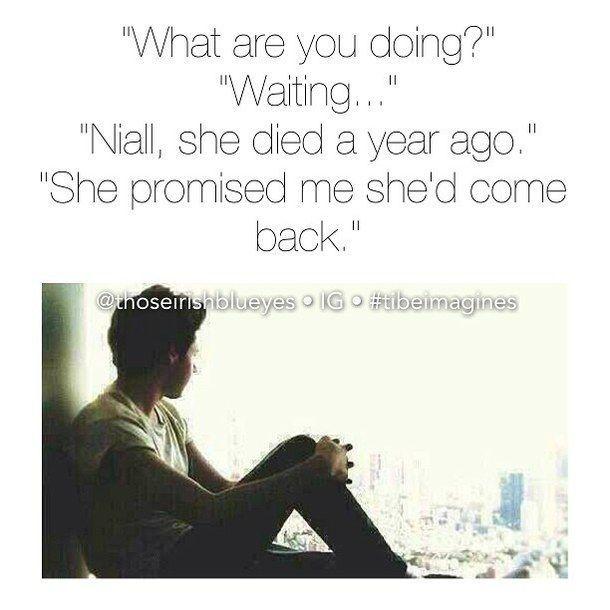 Sad Niall imagine | Niall Imagines | Pinterest