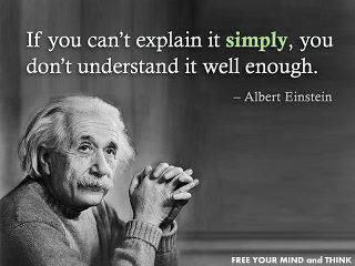 Einstein had some of the most profound quotes.