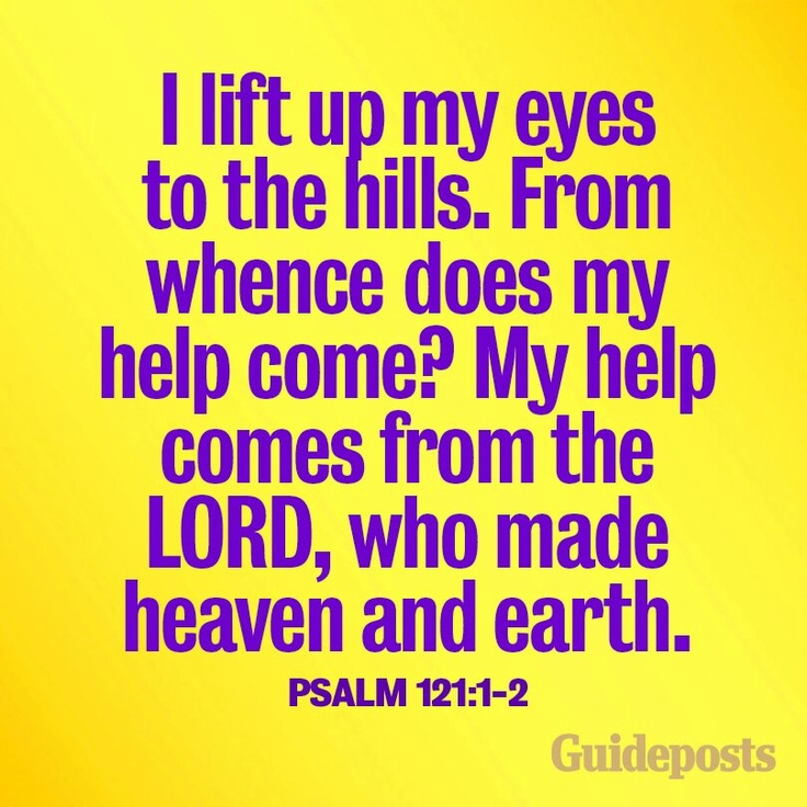 Psalm 121 1 2 psalms for psally 101 125 pinterest