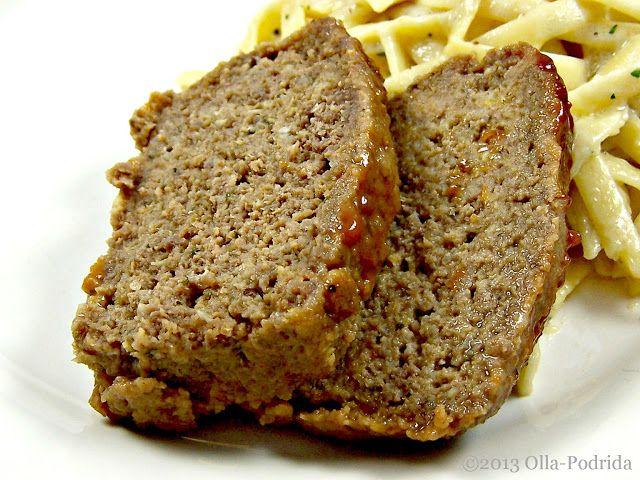Glazed Grape Meatloaf | Olla-Podrida - Meat Loaf | Pinterest