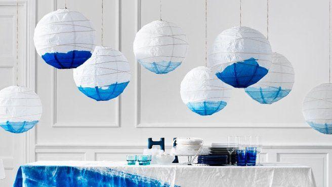 Table mariage bleu blanc  Jolies idées & Inspirations  Pinterest