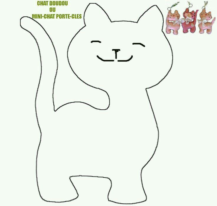Katt siluetter - stock vektor #2574836