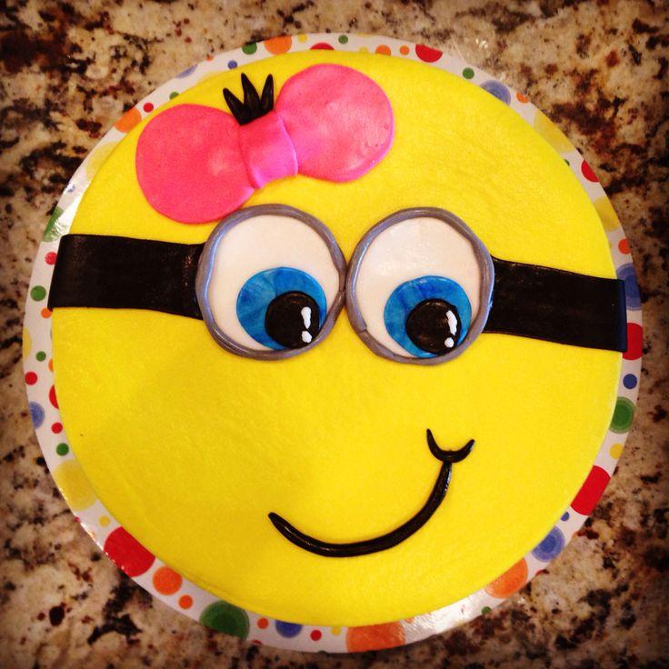 Girl Minion Cake Images : Girl minion cake Cakes Pinterest