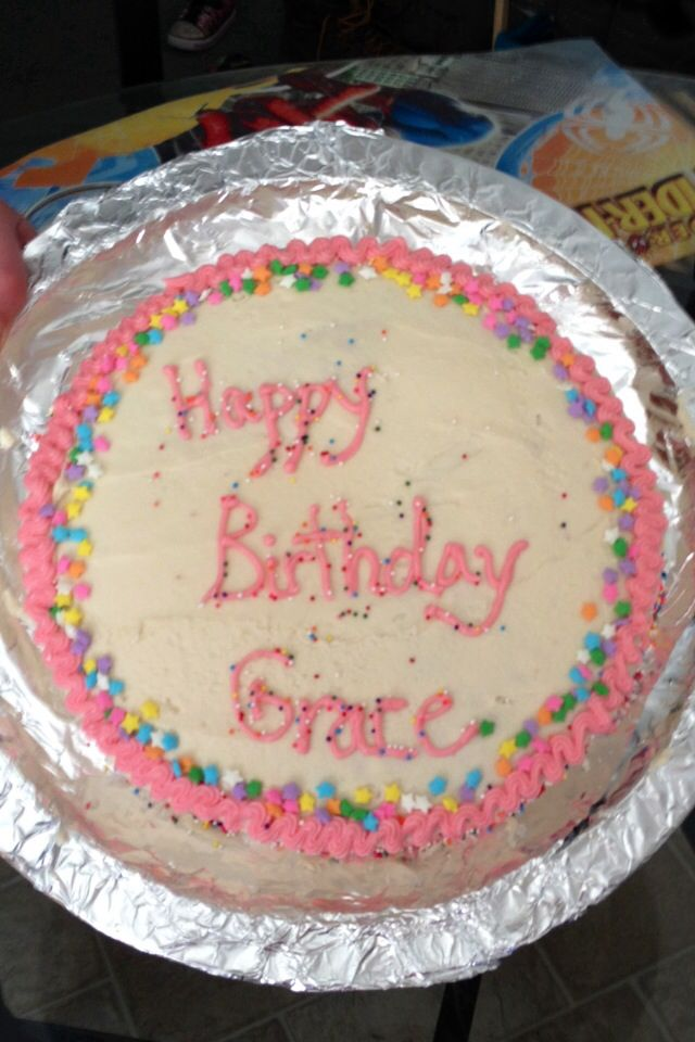 Gracea Birthday Cake! Simple but cute!  B-Day Cakes/Themes  Pinter ...