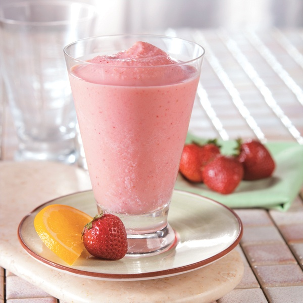 Sugar Free Strawberry Orange Smash Smoothie