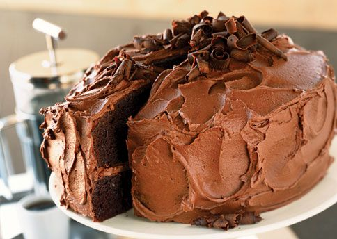 Devil's Food Cake with Chocolate-Orange Buttercream | Recipe