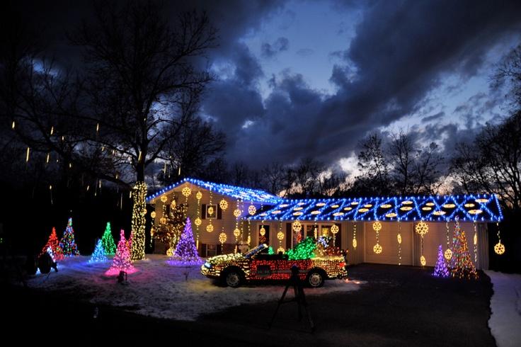 Tulsa, Oklahoma Residential Christmas Lights Installation