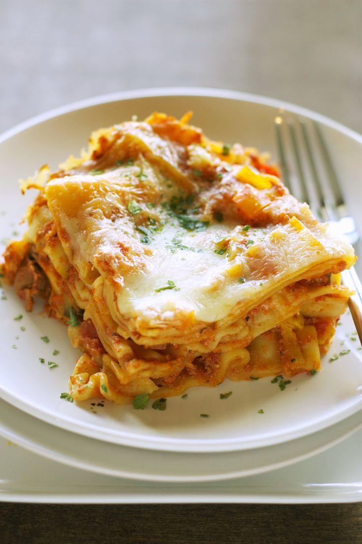Freezer Meal: Crockpot Veggie Lasagna. 5-6 hours low or 3 on high. Pre ...