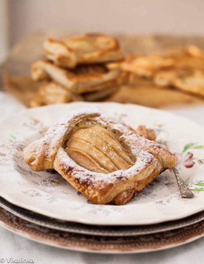 Salted Caramel Pear Tarts - VIKALINKA | For the love of Food... | Pin ...