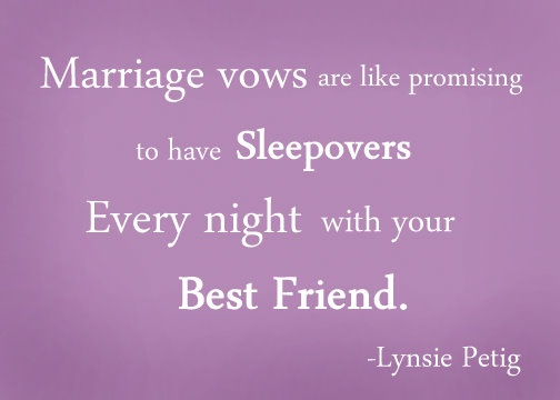 Sleepovers with best friend!