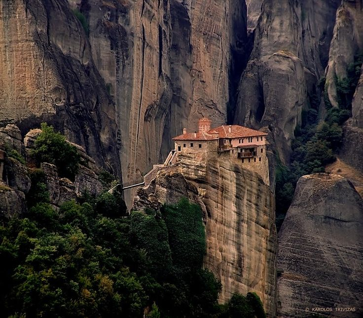 Meteora, Greece  Id Rather Be Here  Pinterest