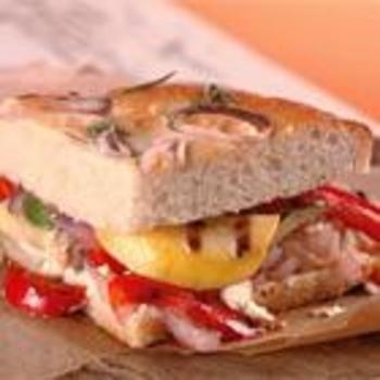 California Grilled Veggie Sandwich | food and drink | Pinterest
