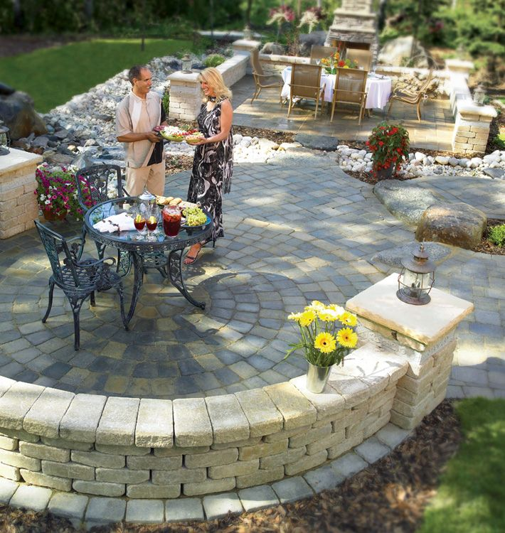 Retaining wall landscaping  landscape ideas  Pinterest