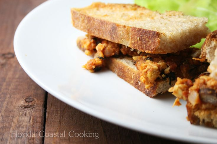 Sloppy Joe with Tempeh and Black Beans | Meals | Pinterest