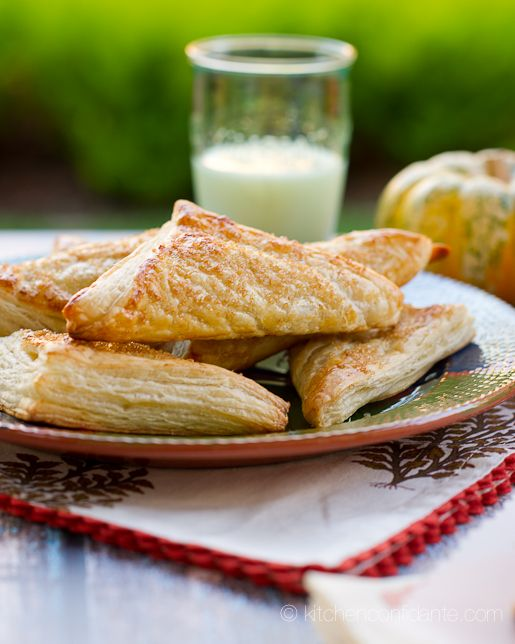 Pumpkin Turnovers from Kitchen Confidante... oh my!