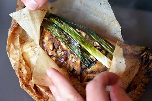 Fish en Papillote (in Parchment) with Citrus, Ginger, & Shiitake by ...