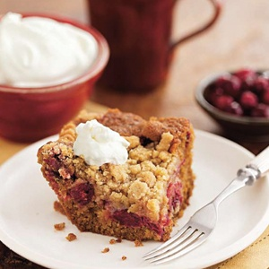 Cranberry Gingerbread Buckle Going to make this soon- recipe from ...