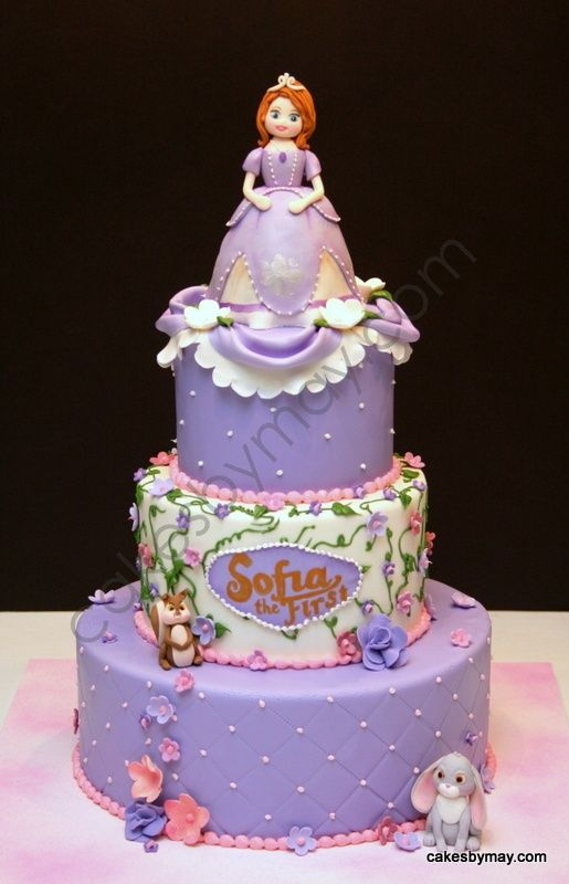 Pictures Of Princess Sofia Cake : Sophia The First Birthday cake