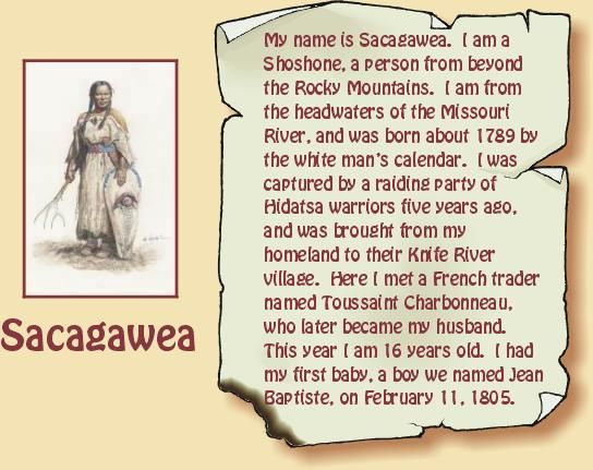 Read about Sacagawea. Love her history! | History | Pinterest