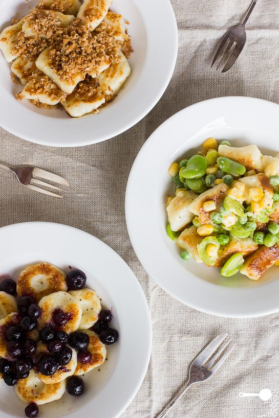 Simple Potato Gnocchi and 3 Topping Ideas from @WholesomeCook