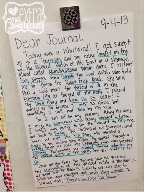 Journal Writing with Young Children