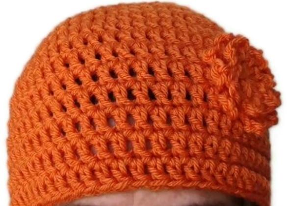 Easy Crochet Beanie Pattern Crochet hat patterns Pinterest