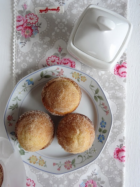 french breakfast muffins | sweet recipes | Pinterest