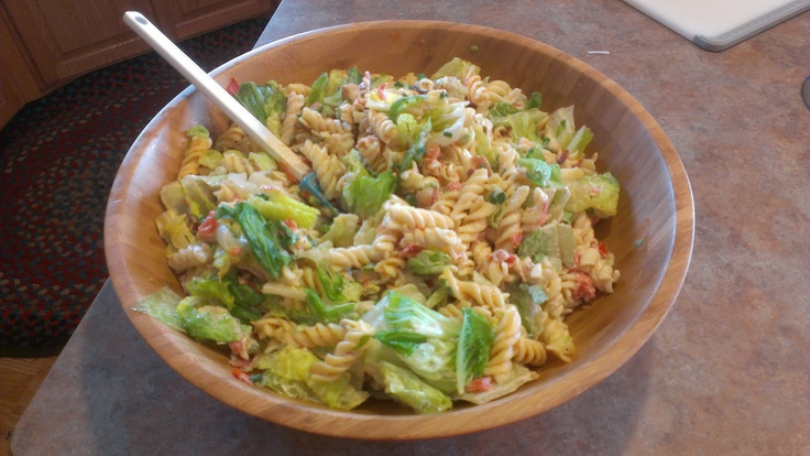 BLT Pasta Salad   My Recent Endeavors   Pinterest