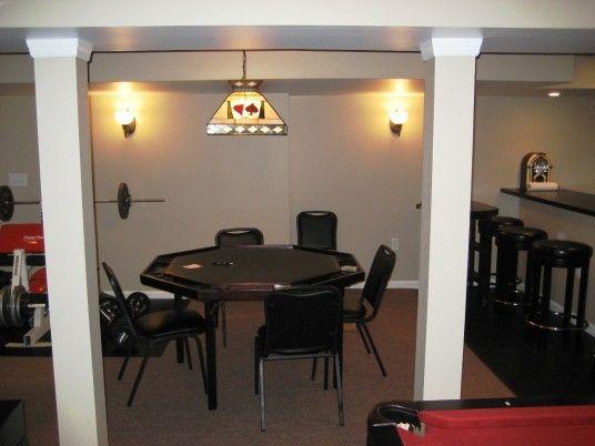 Cool simple basement ideas basement ideas pinterest - Simple basement designs ...
