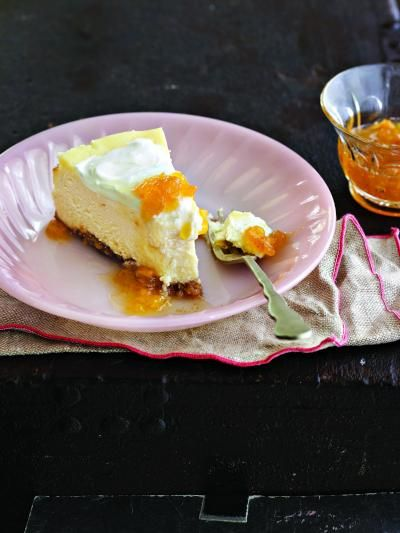 Peach-Bourbon Cheesecake from Southern Living Little Jars, Big Flavors ...