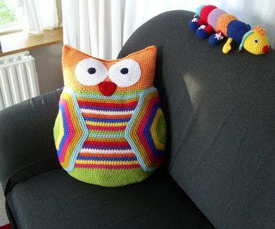 FIFIA CROCHETA blog de crochê : coruja de crochê