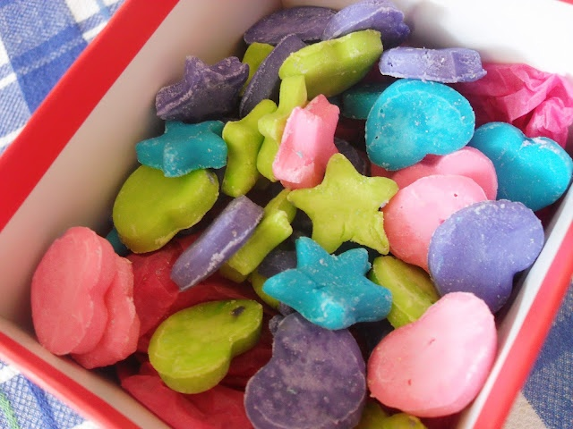 Homemade Candy Hearts and Stars | Desserts | Pinterest