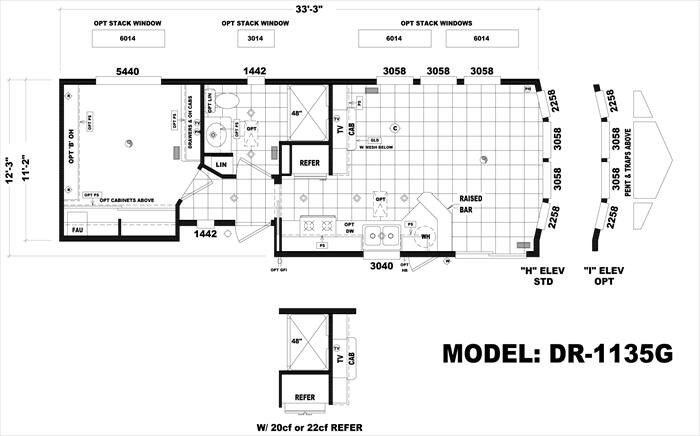 park model home floor plan park model home inspiration