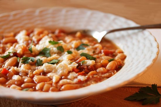 Chorizo & White Bean Soup | Food | Pinterest