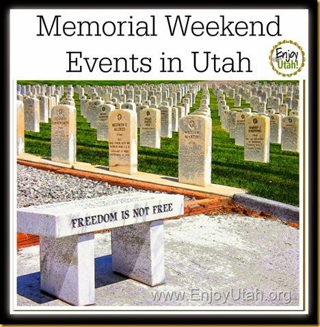memorial day utah events
