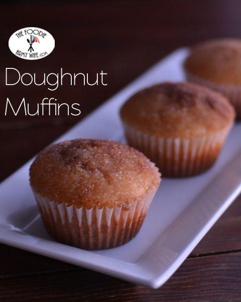 Doughnut Muffins | Great Recipes | Pinterest