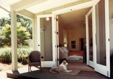 French Doors With Hinged Screen Doors For The Home