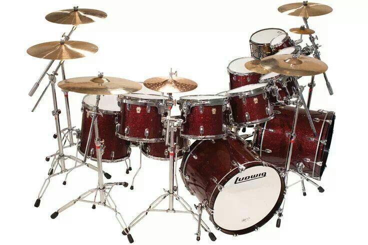Ludwig | cool drum kits | Pinterest