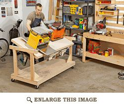 Flip-top Tool Bench | The Wood Shop | Pinterest
