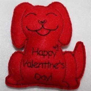 valentine's day applique design