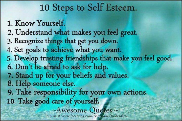 Self esteem boosters quotes