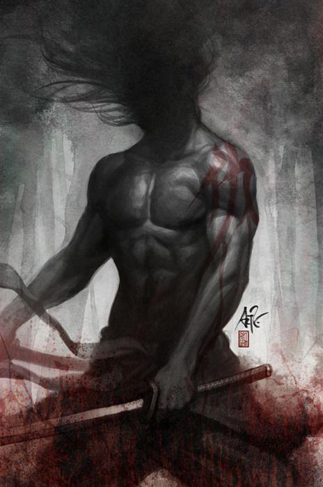 """Samurai Spirit: Vengeance - by Stanley Lau  """"Faceless, mindless & soulless"""""""