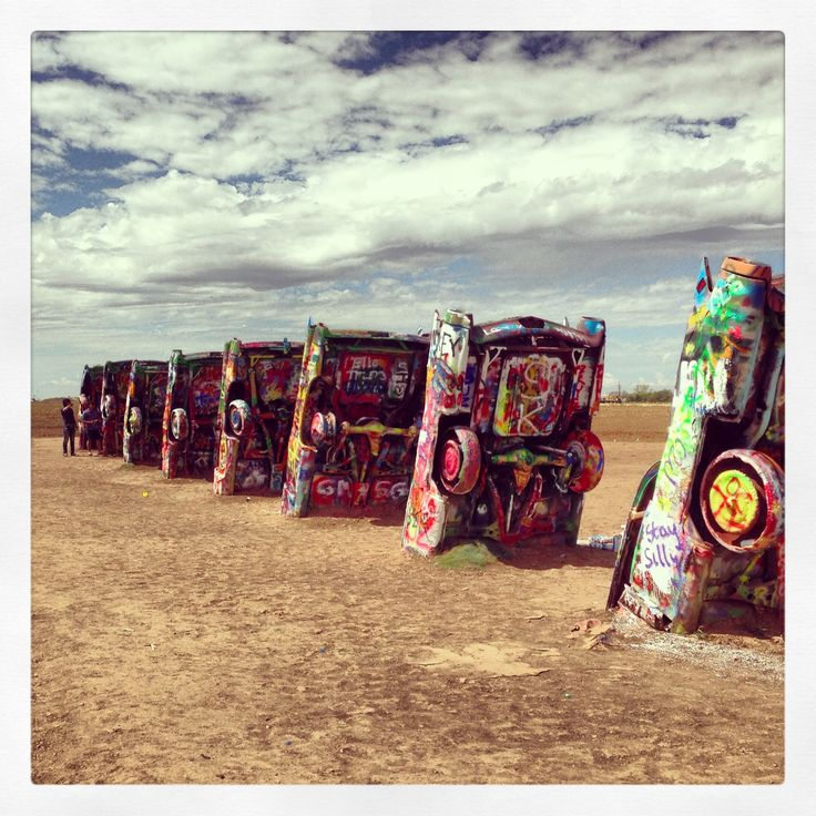 cadillac ranch amarillo texas the american road trip pinterest. Cars Review. Best American Auto & Cars Review
