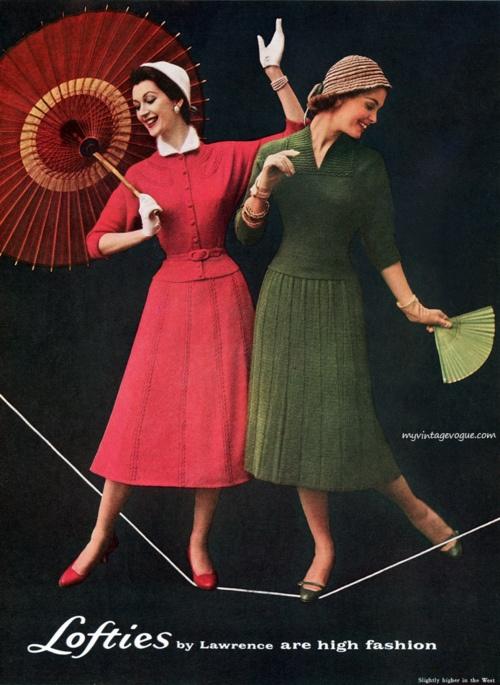 50s fashion, nice color