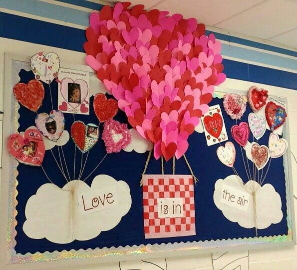 valentine's day bulletin board ideas for kindergarten